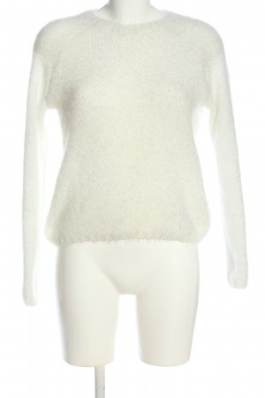 BSK by Bershka Knitted Sweater white casual look