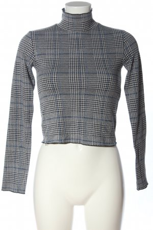 BSK by Bershka Knitted Jumper check pattern business style