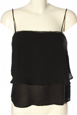 BSK by Bershka Strappy Top black casual look