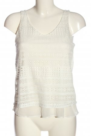 BSK by Bershka Strappy Top natural white casual look