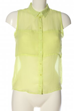 BSK by Bershka Transparent Blouse primrose casual look