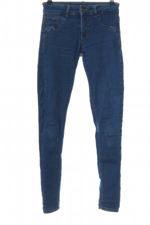 BSK by Bershka Treggings blue casual look