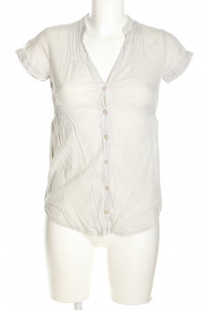 BSK by Bershka V-Neck Shirt white casual look