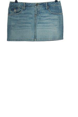 BSK Jeans Spijkerrok blauw casual uitstraling