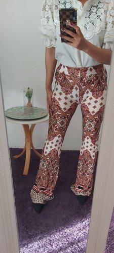 BSL Pantalon pattes d'éléphant brun