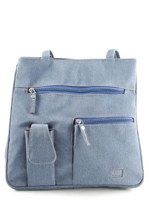 Handtasche blau Casual-Look