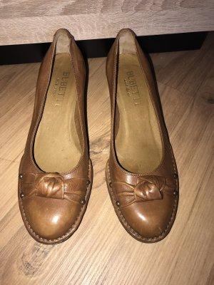 Loafer cognac-marrone