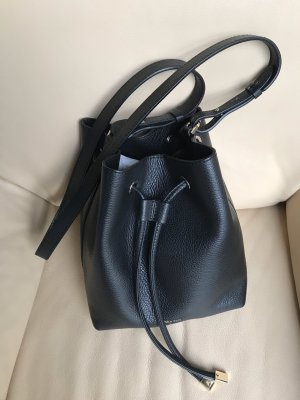 "Bucket Bag ""Patrizia Pepe"" schwarz Leder"