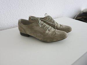 Limelight Zapatos Budapest blanco puro-gris claro