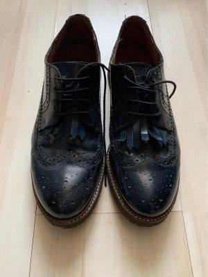 AN OTHER A Chaussures à lacets bleu foncé-bleu