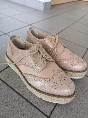 Wingtip Shoes rose-gold-coloured-pink