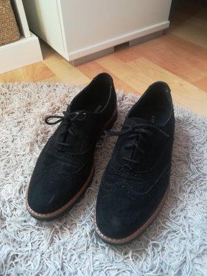 Graceland Budapest schoenen zwart-bruin