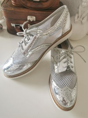 Lucky Shoes Zapatos Budapest color plata