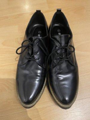 Street Shoes Scarpa a coda di rondine blu scuro