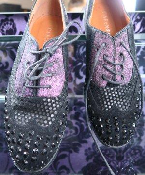 Cafènoir Sznurowane buty Wielokolorowy Skóra