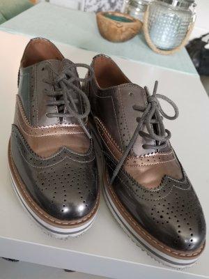 Anna Field Budapest schoenen zilver-brons