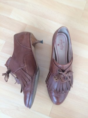 Anthropologie Lace Shoes multicolored leather