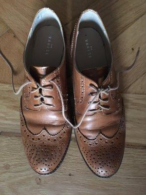 Varese Budapest schoenen cognac Leer