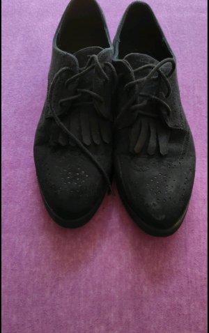 H&M Zapatos Budapest negro