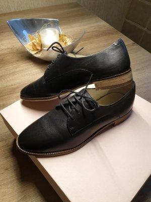 5th Avenue Chaussures à lacets noir