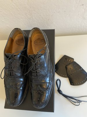 Church's Wingtip Shoes black leather