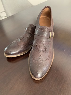 Marc O'Polo Wingtip Shoes bordeaux