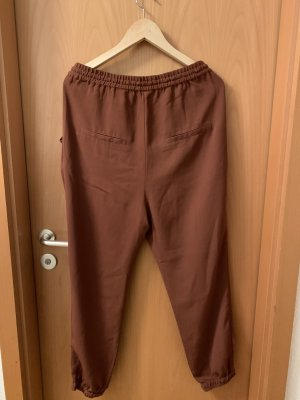 H&M Baggy Pants brown-cognac-coloured