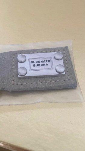 Buddha to Buddha Porte-clés brun sable cuir