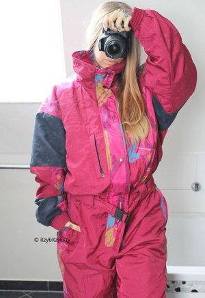 Vintage Pantalon de ski rose