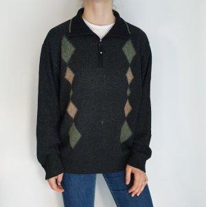 Bueckle Seide Wolle Jacke Cardigan Strickjacke Oversize Pullover Hoodie Pulli Sweater Top True Vintage