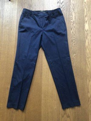 Bügelfalten Hose blau Größe 38