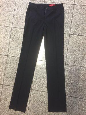 Hugo Boss Spodnie materiałowe ciemnoniebieski
