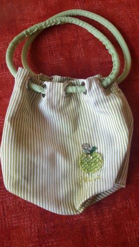 Borsa telaio verde pallido