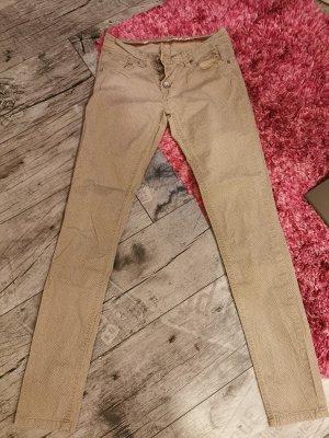 BUENA VIASTA -Malibu ♥ Super schöne skinny Jeans mit zarter Musterung Gr. 34 XS