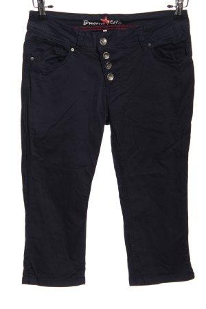 Buena Vista Pantalone a 3/4 nero stile casual