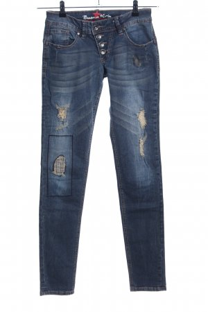 Buena Vista Boyfriendjeans blau Street-Fashion-Look