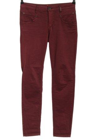 Buena Vista Slim Jeans red casual look