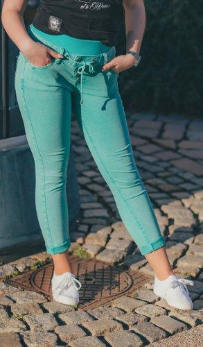 Buena Vista Damen Jeans Malibu Slack 7/8 Gr. S - porcelain green