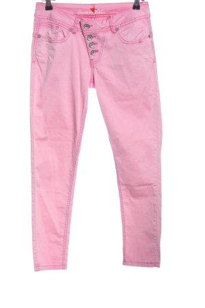 Buena Vista Pantalone cinque tasche rosa stile casual