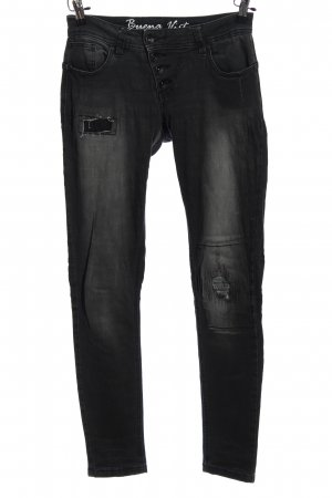 Buena Vista Five-Pocket-Hose schwarz Casual-Look