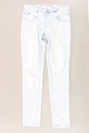 Buena Vista Five-Pocket Trousers blue-neon blue-dark blue-azure cotton