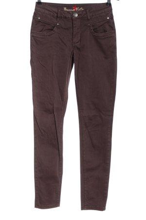 Buena Vista Slim jeans lila casual uitstraling