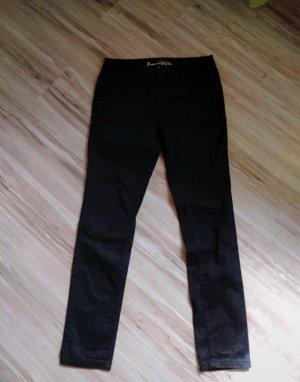 Buena Vista Pantalone a vita bassa nero