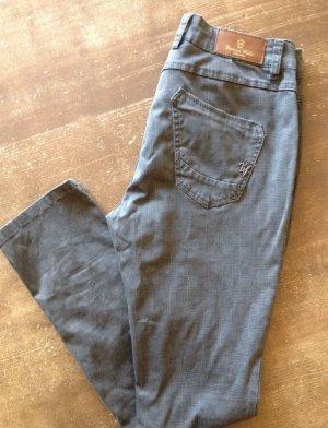 Buena Vista Five-Pocket Trousers olive green cotton
