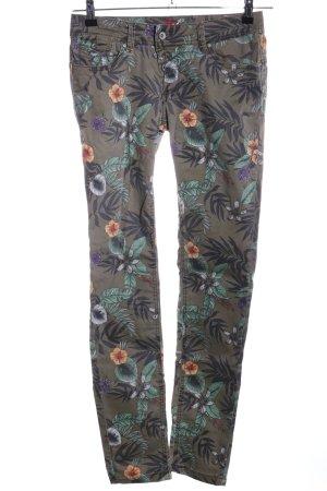 Buena Vista pantalón de cintura baja estampado floral look casual