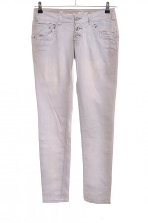 Buena Vista Low-Rise Trousers light grey casual look