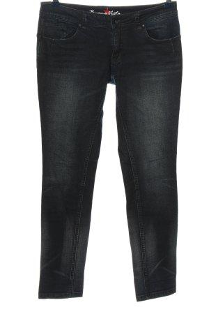 Buena Vista Low Rise Jeans black casual look