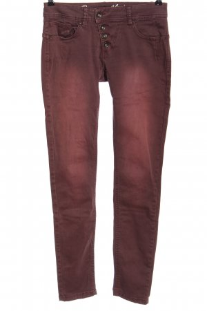 Buena Vista Low Rise Jeans pink casual look
