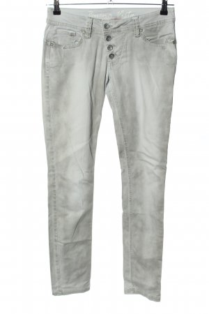 Buena Vista Low Rise Jeans light grey casual look