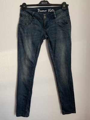 Buena Vista Low-Rise Trousers dark blue